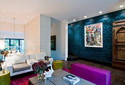 Interior design by Jimmie Martin and McCoy - Notting Hill Town House